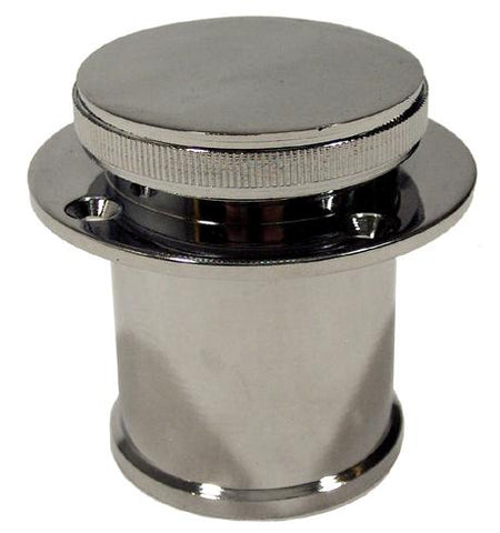 Fuel Filler - Raised Cap S/S-Cassell Marine