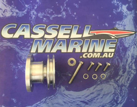 MCE Billet Double Timing Case Pulley 1028 73mm Chev-Cassell Marine