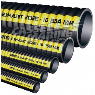 "Marine Flexible Exhaust Hose 90mm 3 1/2""-Cassell Marine"