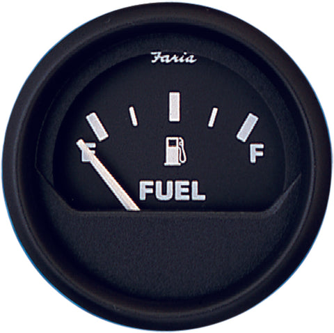 Faria FUEL Gauge EURO BLACK