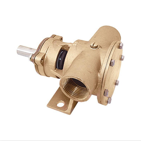 "Jabsco Bronze Flexible Impeller Pump 1"" Inch 52080 J50-120"