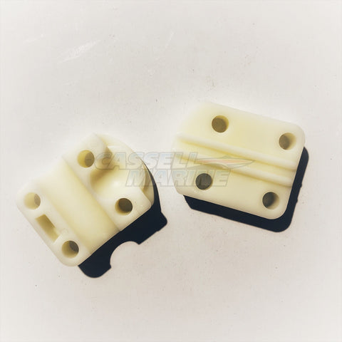 Steering Cable Clamp Block - Nylon suit Morse