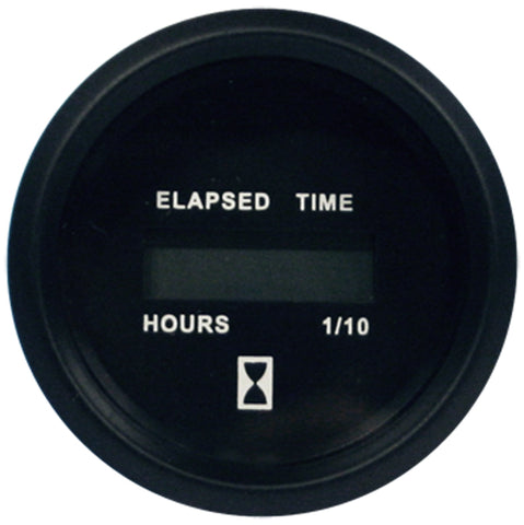 Faria HOUR METER Gauge EURO BLACK