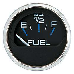 Faria FUEL Gauge Chesapeake SS Black