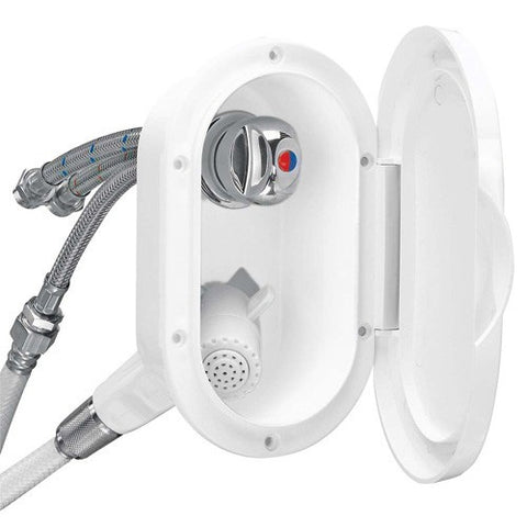 Plastimo Shower Mixer Set Twin White 8282