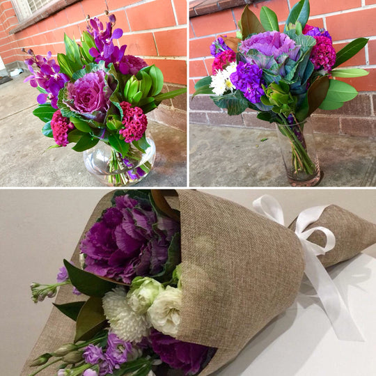 Bouquet or Bunch? What's the difference?