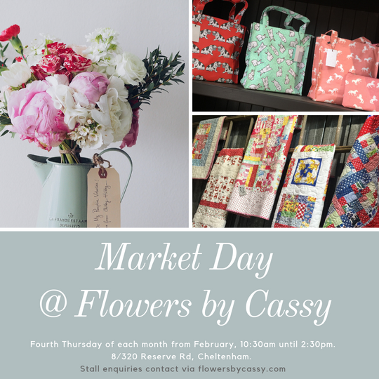 Market Day at Flowers by Cassy