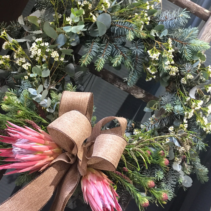 Long lasting Christmas wreath