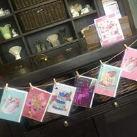 Flowers by Cassy cards