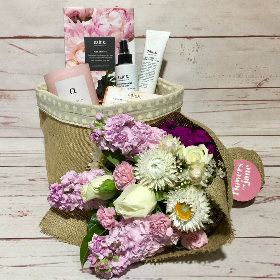 Pamper and Care hamper