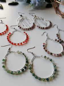 Jocelyn Single Hoop Earrings