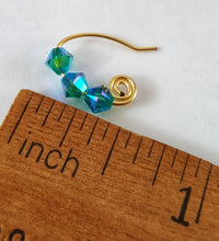 SWAROVSKI Spiral Earrings