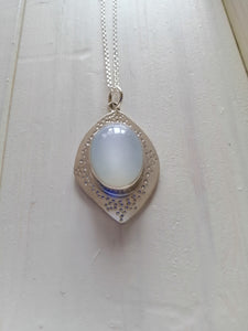 White MoonStone Pendant