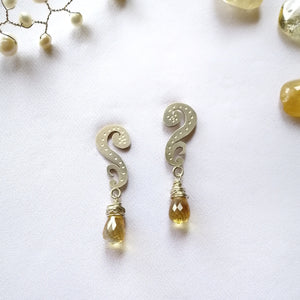 Nyonya Paku Pakis Posts with Citrine