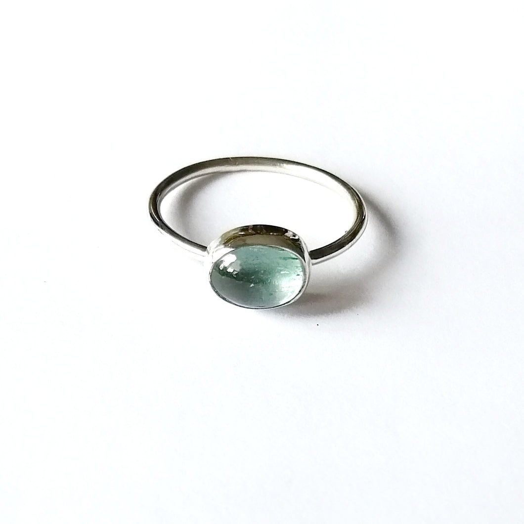 Stacker Ring - Aquamarine