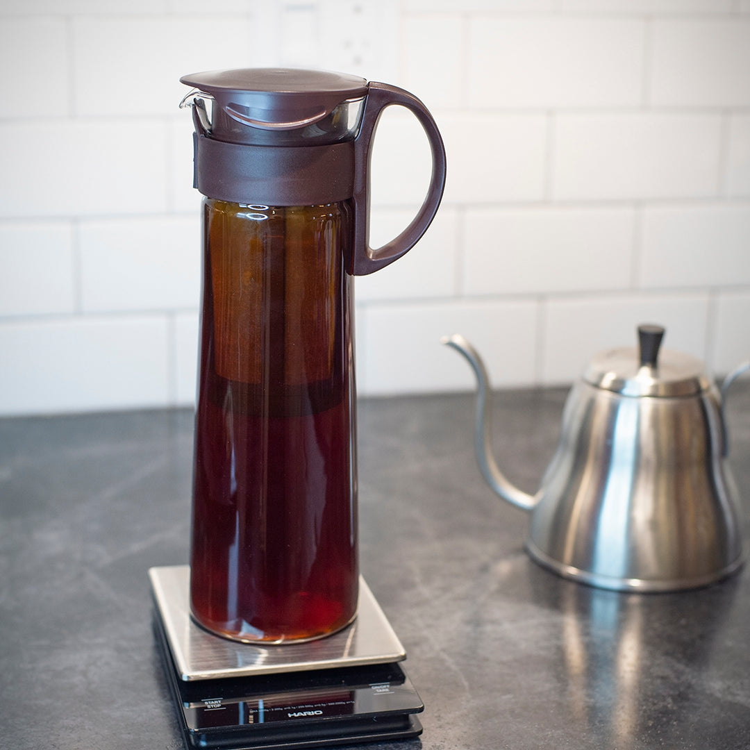 how to make the perfect cold brew black creek coffee jug finished