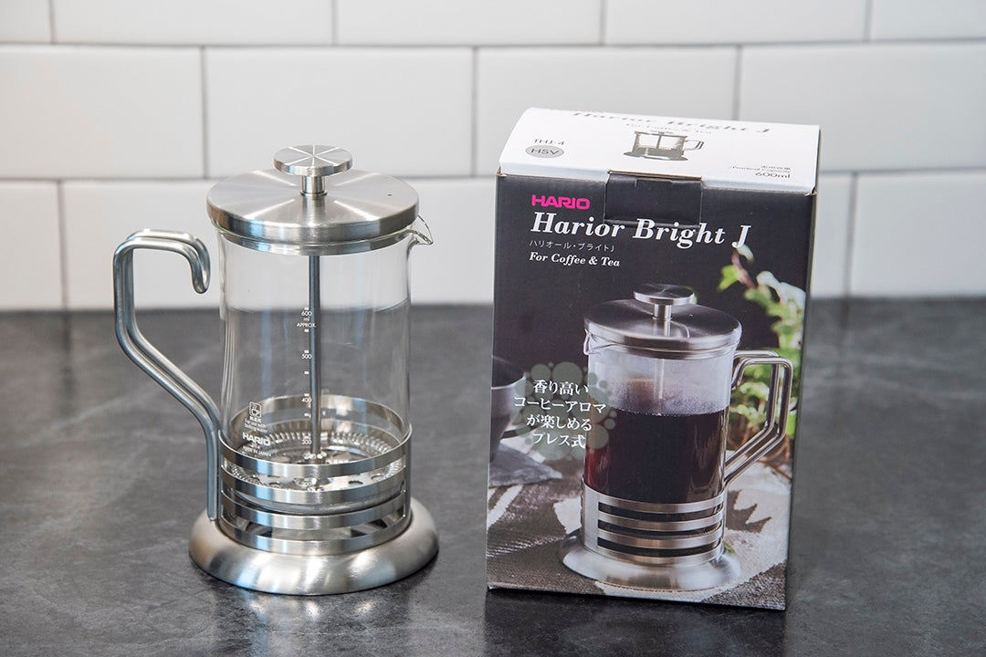 how to make the perfect french press coffee hario harior bright