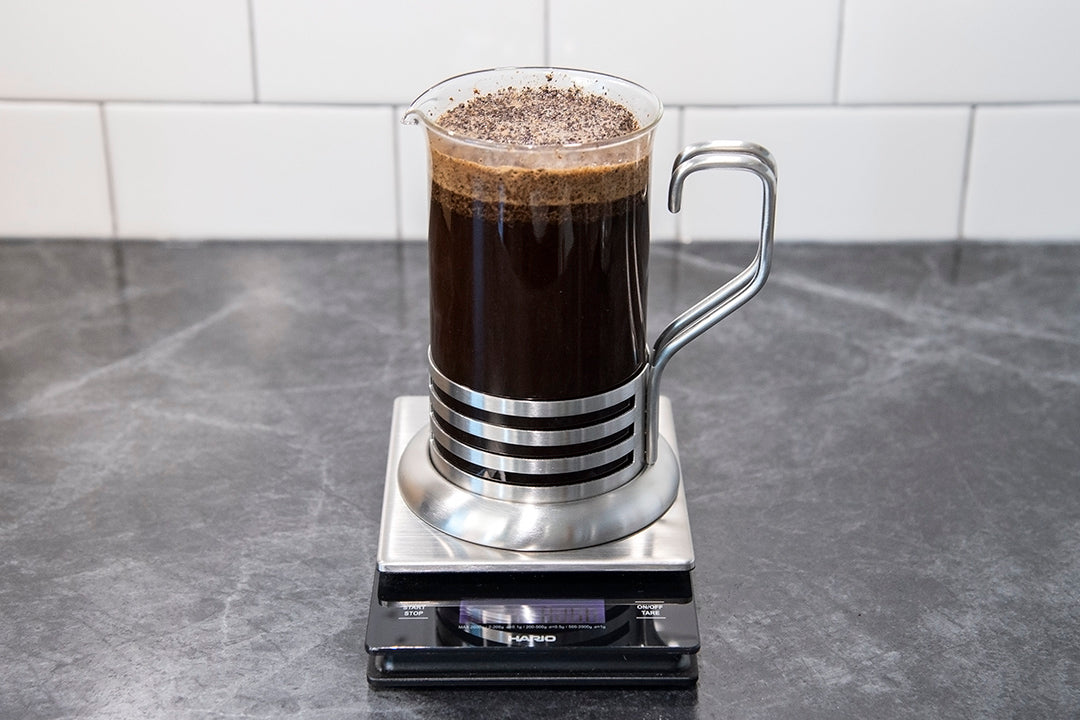 how to make the perfect french press coffee brew