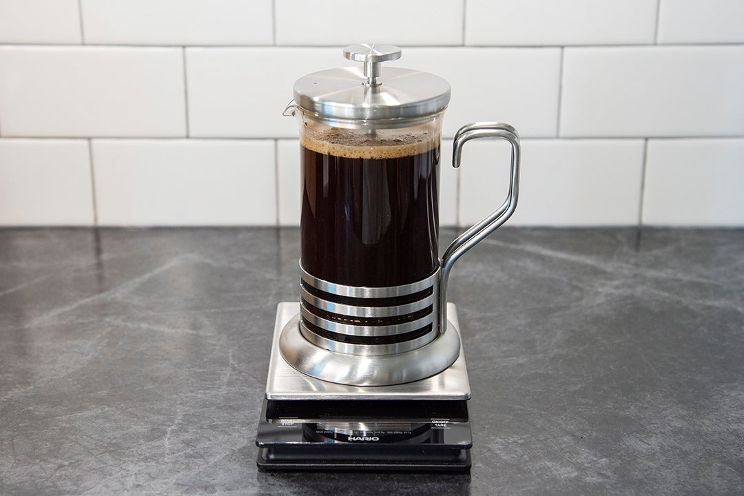 how to make the perfect french press coffee plunge
