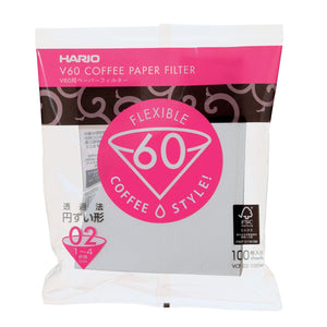 Hario V60-02 Filters White (100 Pack)