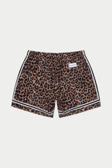 Leopard Game Swim Short