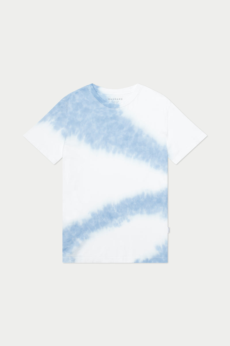 Clouds Tie Dye Short Sleeve Tee
