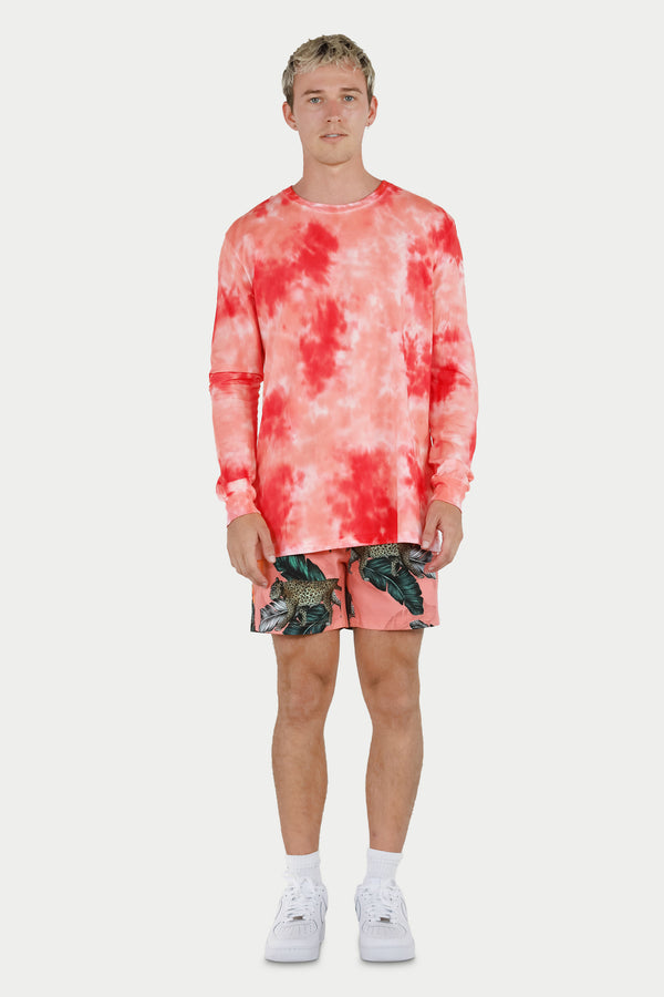 Coral Long Sleeve Tee