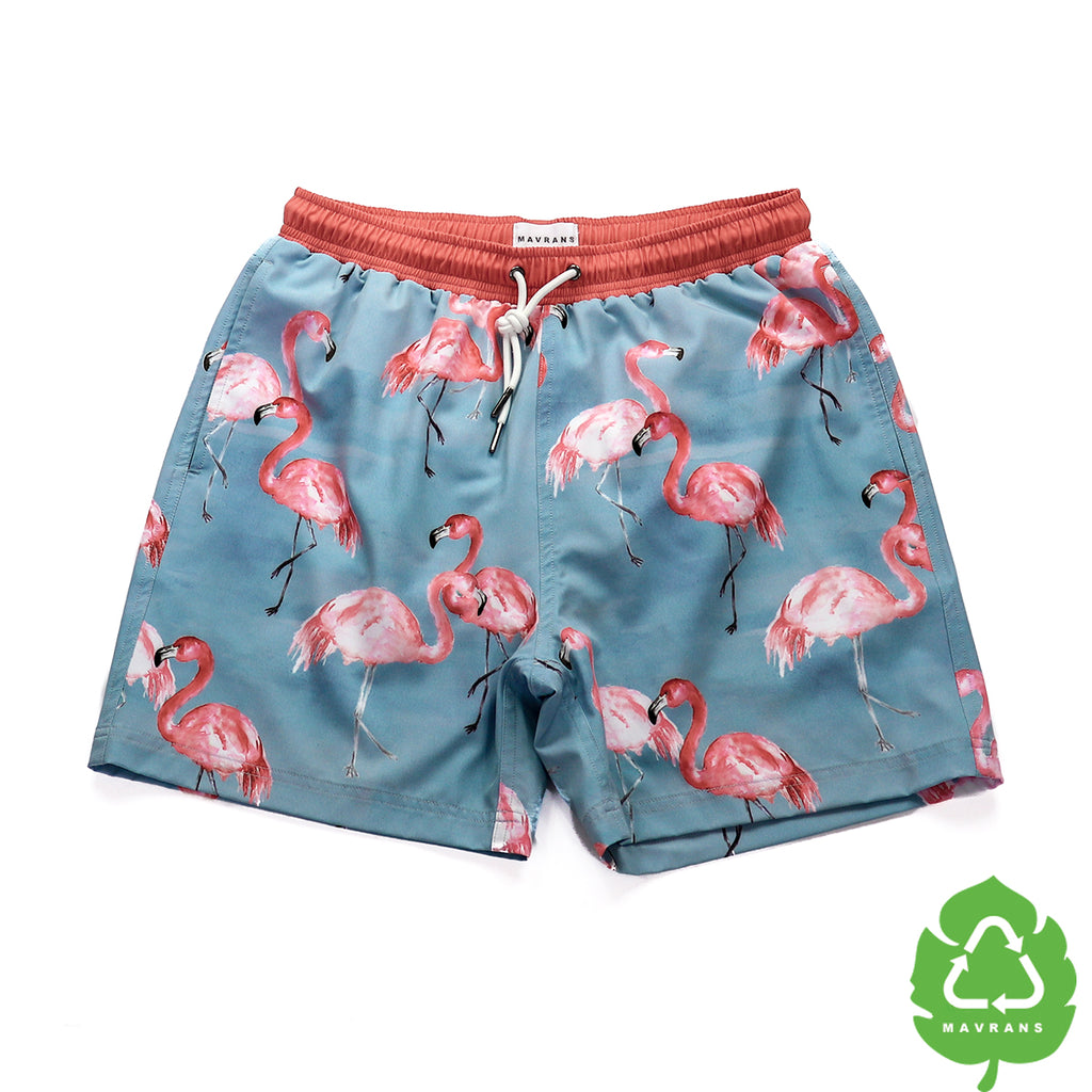 FLA Mingle 5 Inch Stretch Swim Trunks (515569680429)