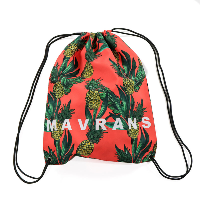 Fine Apple Drawstring Backpack