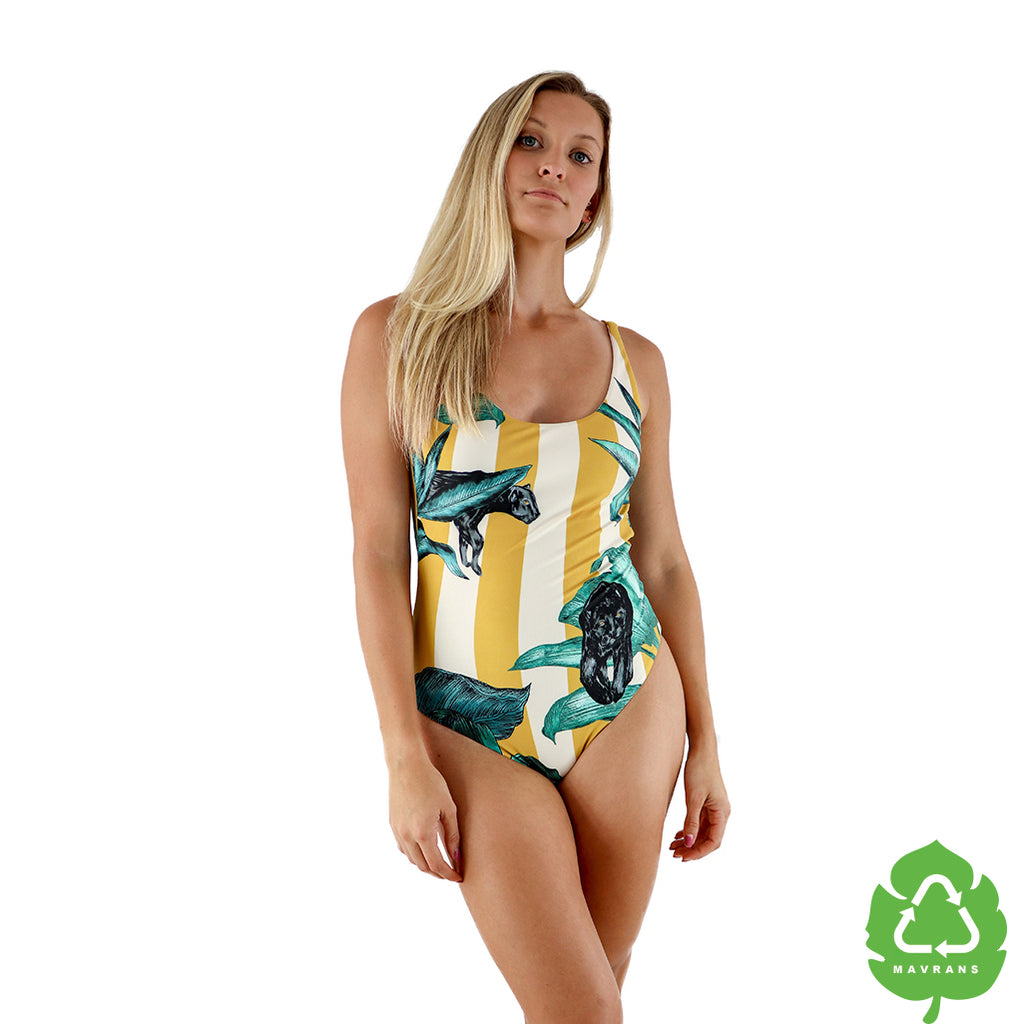 Pantera Juniors One Piece Swimsuit (1429570879533)