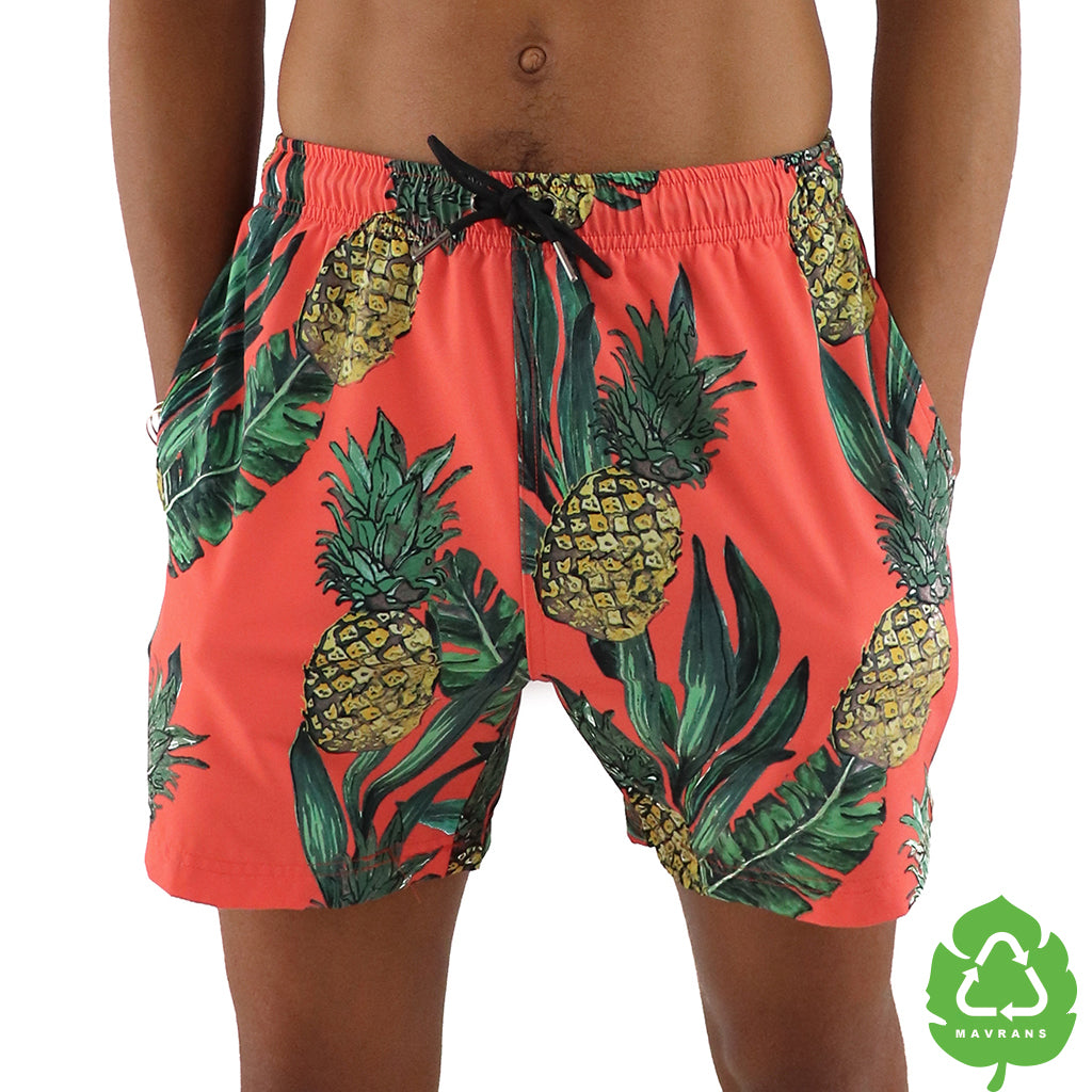 Fine Apple 5 Inch Stretch Swim Trunk