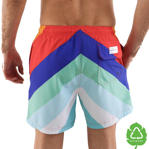 California Dreams 5 Inch Stretch Swim Trunks