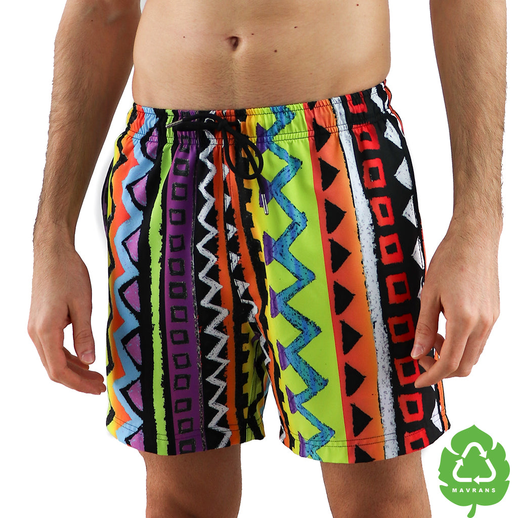 Retro 5 Inch Stretch Swim Trunk (515568566317)