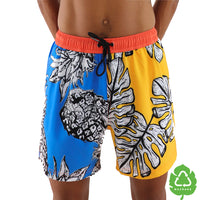 Piña Colada 5 Inch Stretch Swim Trunk (1528096489517)