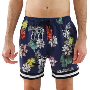 Majestic 5 Inch Stretch Swim Trunk (1528614256685)
