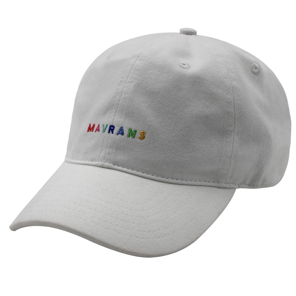 MAVRANS MULTI COLOR DAD HAT 3/4