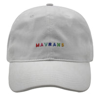 MAVRANS MULTI COLOR DAD HAT FRONT