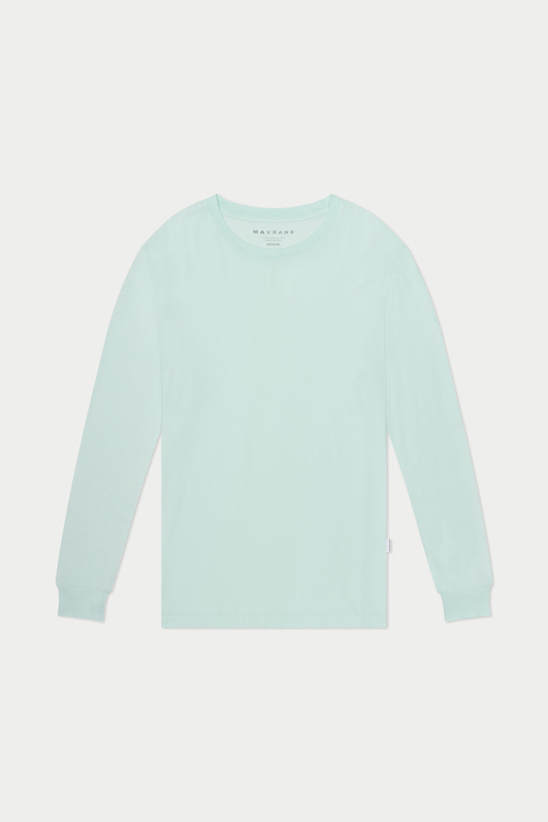 Mint Long Sleeve Tee