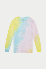 Pastel Tie Dye Long Sleeve Tee
