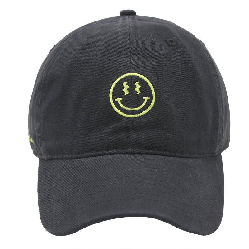 Trippy face Dad Hat (4369292460150)