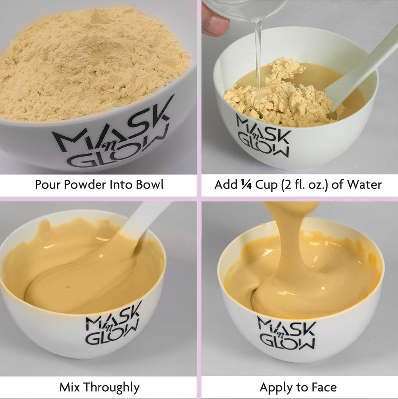 "Gold Collagen Peel-Off Modeling Mask""Rubber Mask"""
