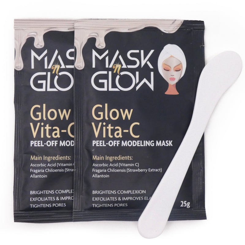 "Glow Vita-C Peel-Off Modeling Mask""Rubber Mask"""