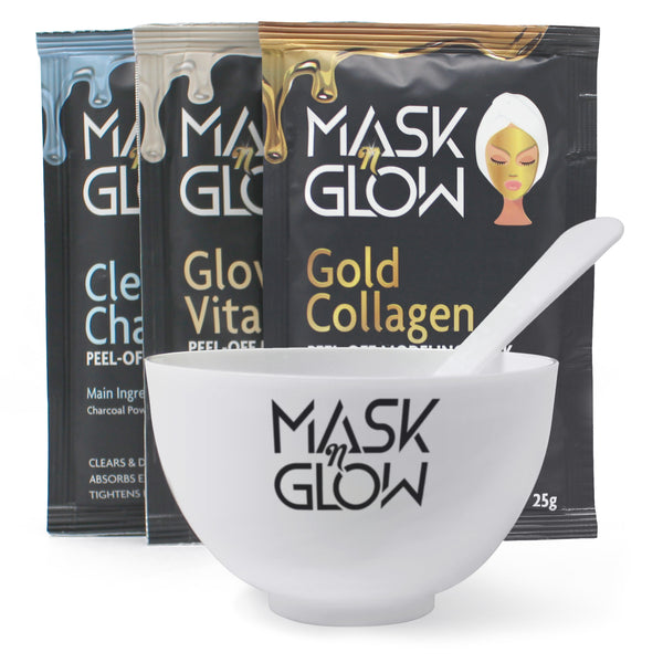Brightening, Clarifying & Firming Modeling Mask Spa Set with Bowl & Spatula