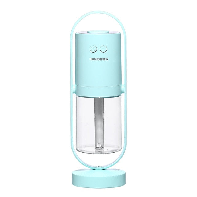 Negative Air Ion Humidifier 200ML Ultrasonic Essential Oil Diffuser