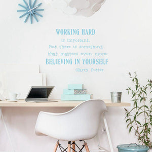Believe in yourself Wall Art Sticker