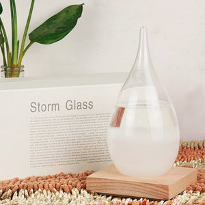 Storm Glass Weather Forecast Bottle