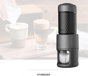 American STARESSO Mini Hand pressure Coffee maker