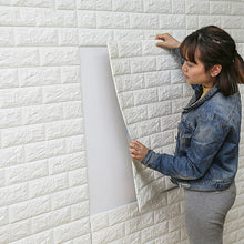 DIY Self Adhesive 3D Wallpaper