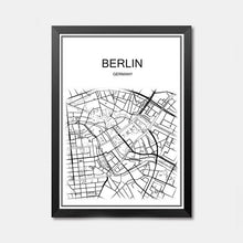 World famous City map
