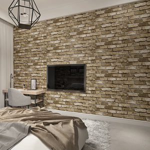 Modern Brick Textured Wallpaper